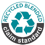 recycled blended standard logo